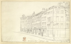 Gracechurch Street, London, 1830